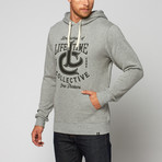 Lifetime Collective // LC Hoodie // Heather Grey (M)