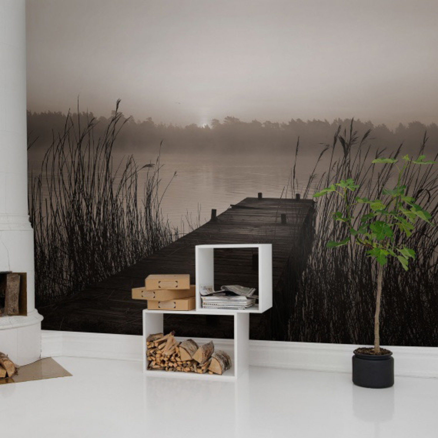 Misty Lake: Touch Of Modern