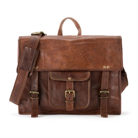 "Backpack Satchel // Horizontal (13""L x 10""W x 4""H)"