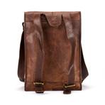 "Backpack Satchel // Vertical (10""L x 13""W x 4""H)"