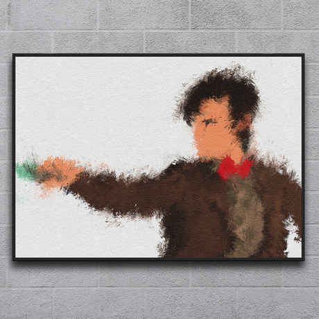 "The Eleventh Doctor (11.7""L x 16.5""H)"