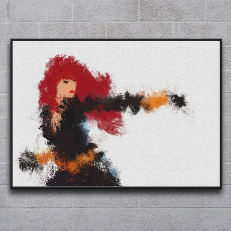 "Black Widow Natasha Romanova (11.7""L x 16.5""H)"