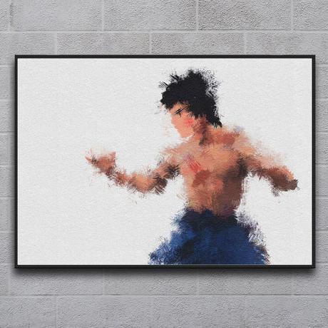 """Bruce Lee (11.7""""L x 16.5""""H)"""