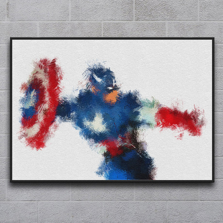 "The American Hero (11.7""L x 16.5""H)"
