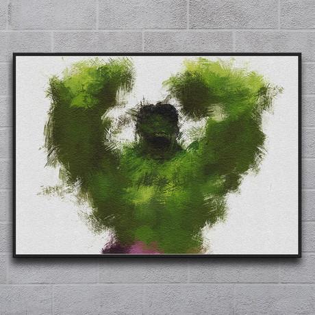 "Smashing Green (11.7""L x 16.5""H)"