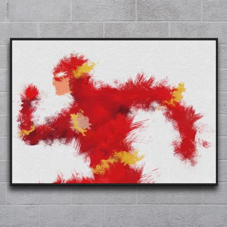 """Scarlet Speedster (11.7""""L x 16.5""""H)"""