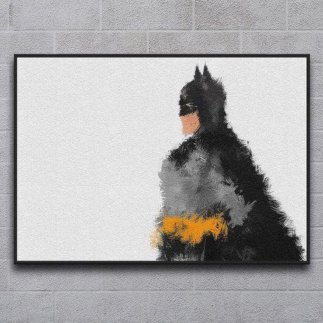 "The Caped Crusader (11.7""L x 16.5""H)"