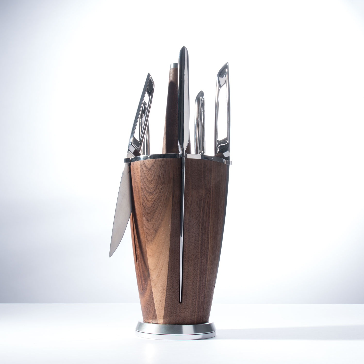 modern knife set modern knife set  - piece knife set with sharpening steel turbineusa touch of modern