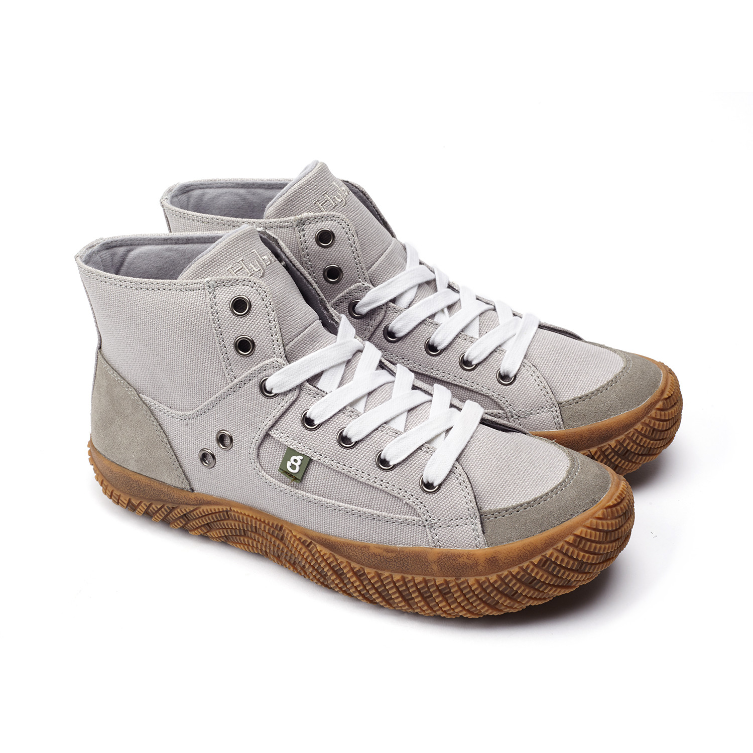 Hybrid Green Label Fearless Canvas High-Top Sneaker pIGXFDe4JH