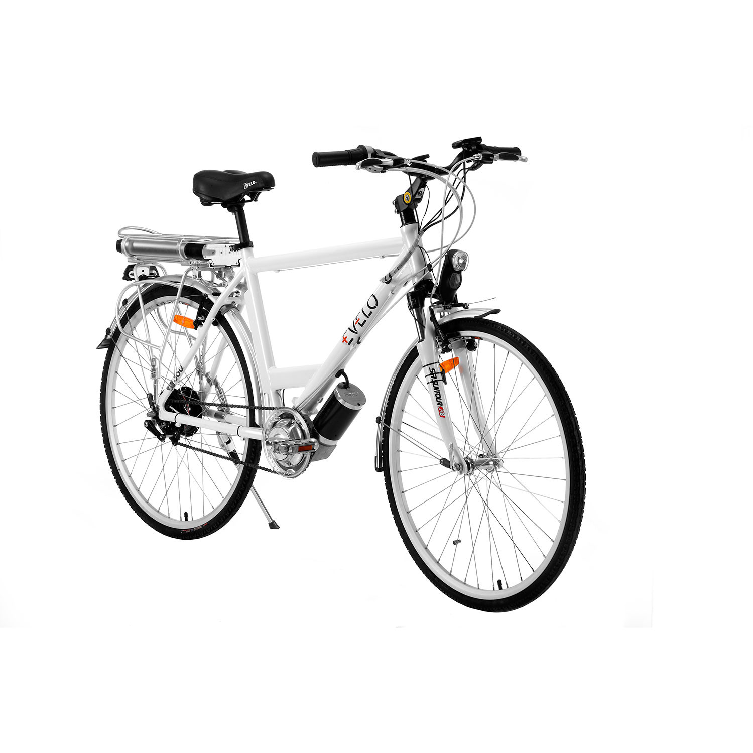 Orion Electric Bike with NuVinci N360 Drivetrain // White