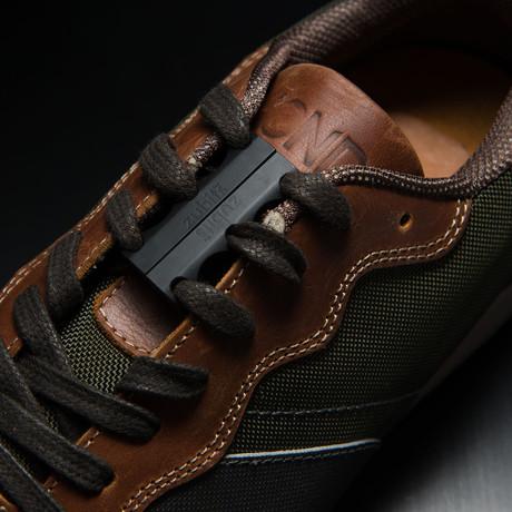 Zubits Magnetic Shoe Closures // Black (Size 1)