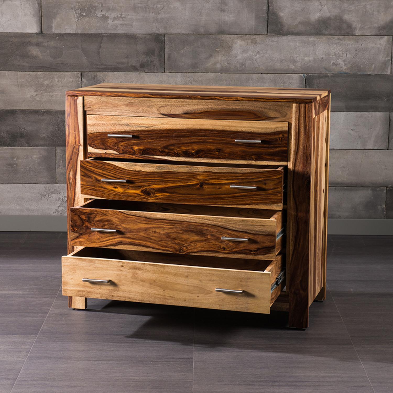 romy 4 drawer dresser natural