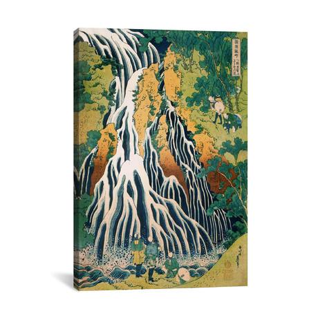 "Kirifuri Waterfall On Mount Kurokami In Shimotsuke Province (Philadelphia Museum Of Art) (12""W x 18""H x 0.75""D)"