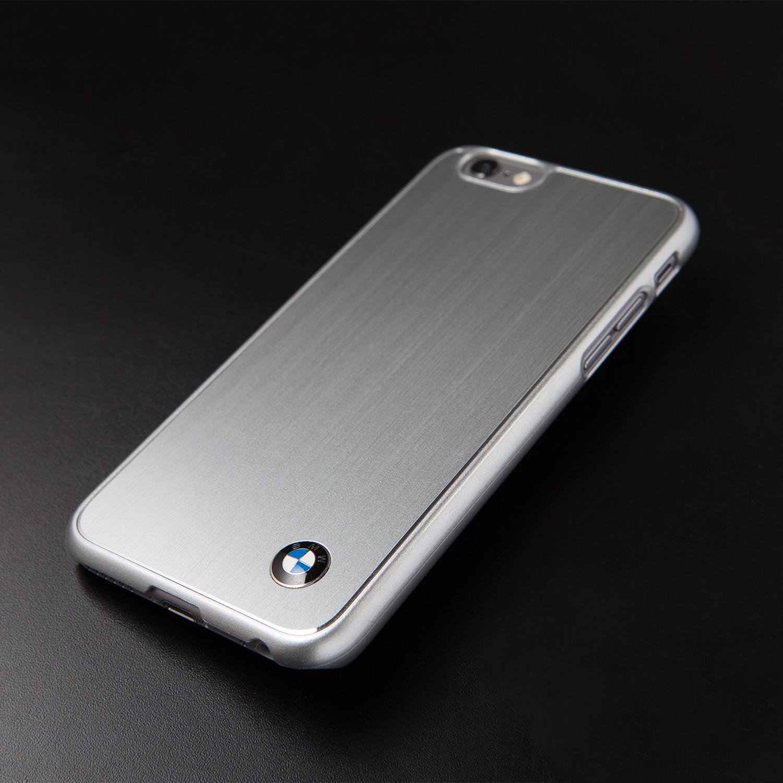 hard case brushed aluminum bmw logo iphone 6 bmw. Black Bedroom Furniture Sets. Home Design Ideas