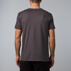 Combed Cotton Tee // Charcoal (S)