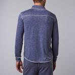 Long-Sleeve Button-Down // Indigo (S)