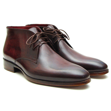 Chukka Boots // Brown + Bordeaux (Euro: 37)