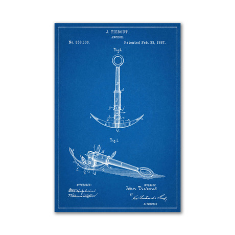 PatentPrints - Nautical Themed Prints - Touch of Modern