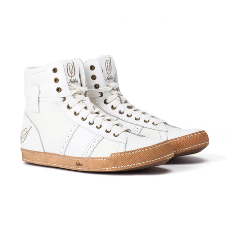High Top Sneaker // White (US: 7)