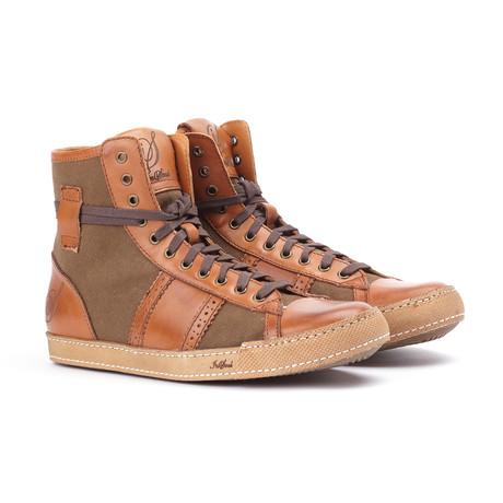 High Top Sneaker // Brown (US: 7)