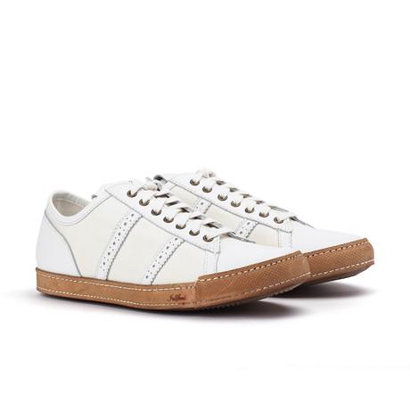 Low Top Sneaker // White (US: 7)