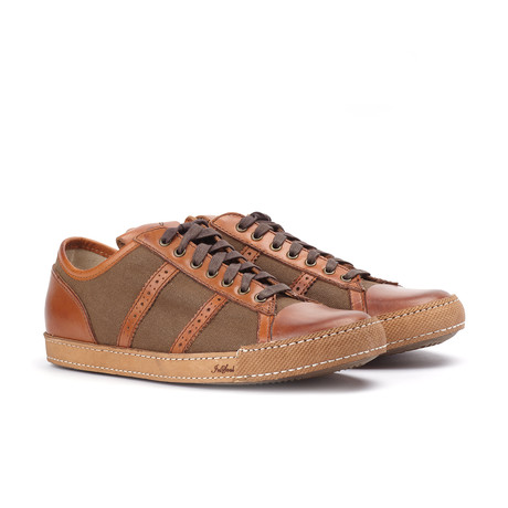 Low Top Sneaker // Brown