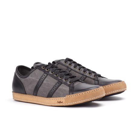 Low Top Sneaker // Black (US: 7)