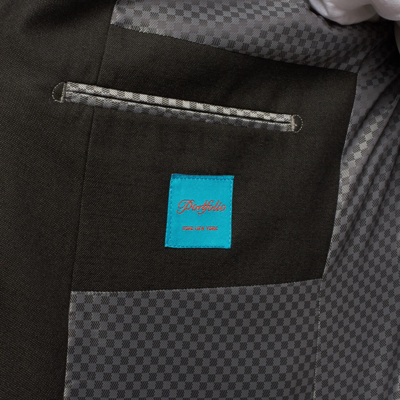 Modern cut 3 piece suit charcoal us 38 portfolio soho touch