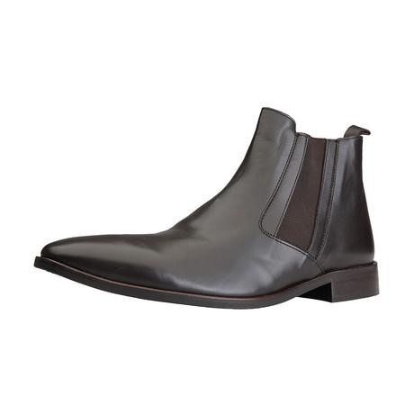 Remy Leer Chelsea Boot // Brown