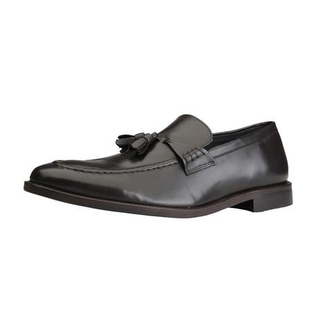Dryan Leather Tassel Loafer // Brown (Euro: 40)
