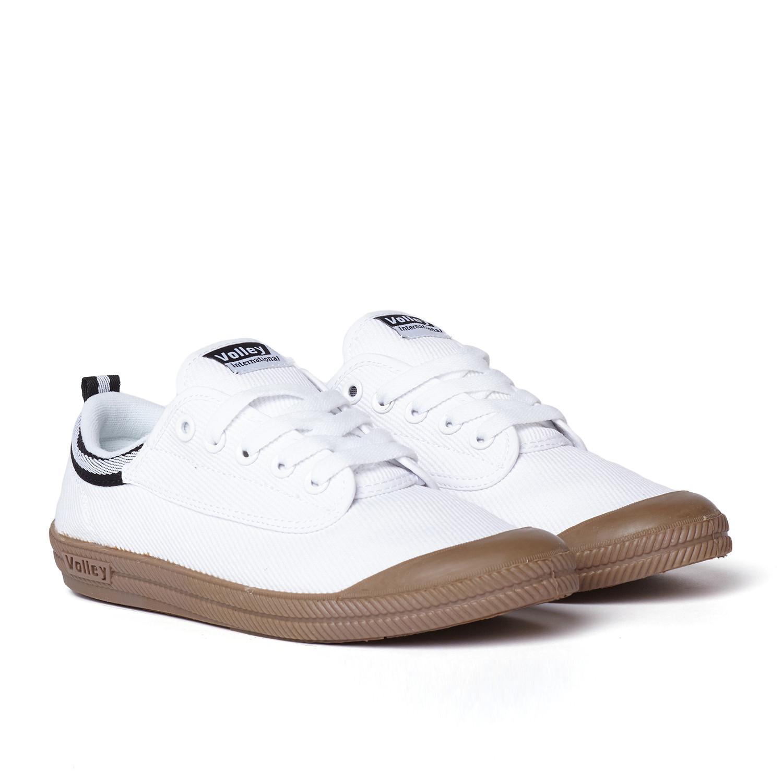 International Canvas Low Top Sneaker White + Gum (US: 12