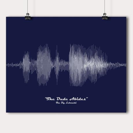 "The Big Lebowski // ""The Dude Abides"""