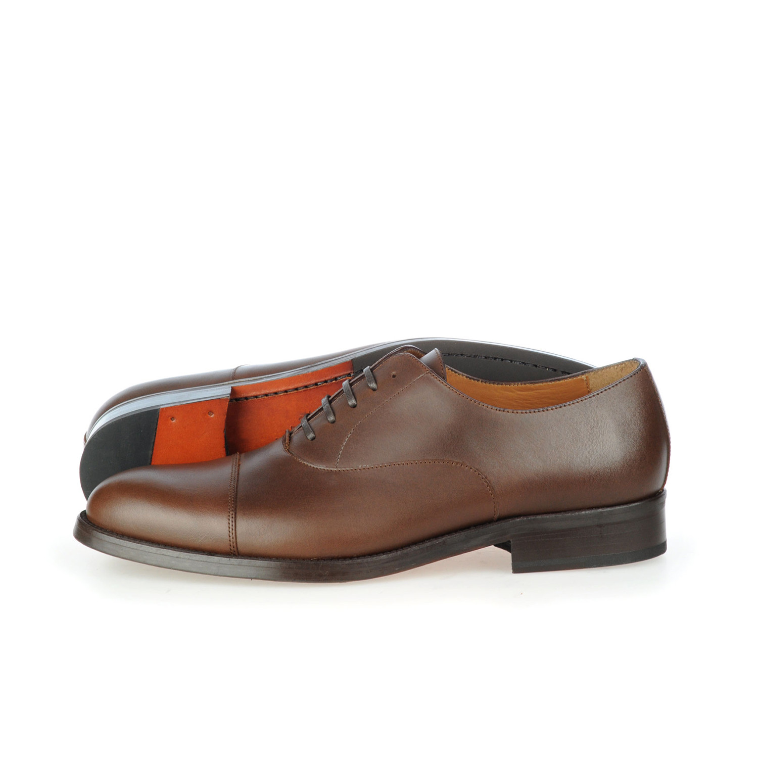 Bespoke leather oxford brown euro 39 rooster for What is bespoke leather