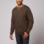 Tiger Leash // Grafter Sweatshirt // Chocolate (L)