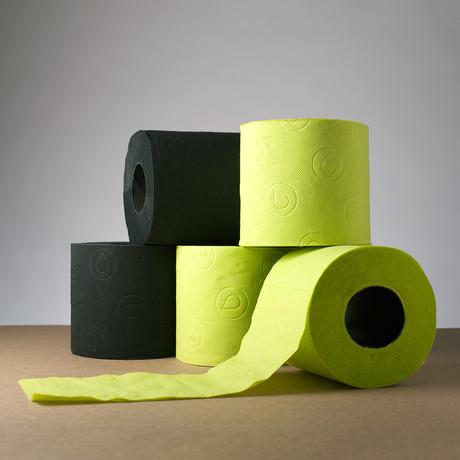 Renova Tissue // Black + Green - Renova Colored Toilet ...