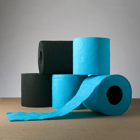 Renova Tissue // Black + Blue - Renova Colored Toilet ...
