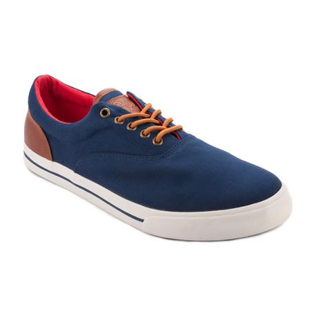 Yama Canvas Sneaker // Navy