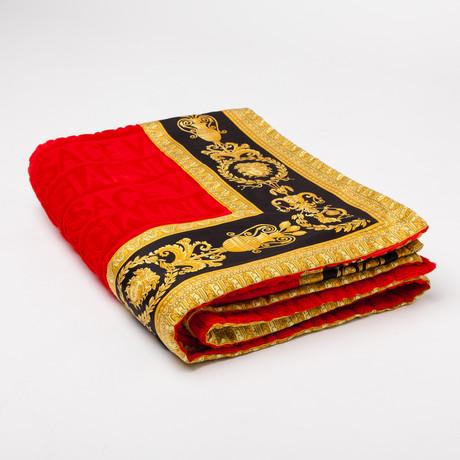 Versace San Tropez Beach Towel // Red