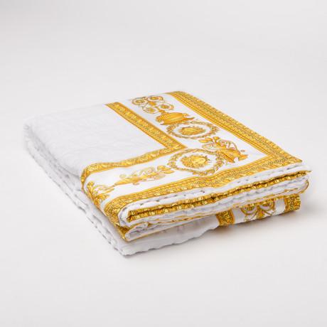 Versace San Tropez Beach Towel // White