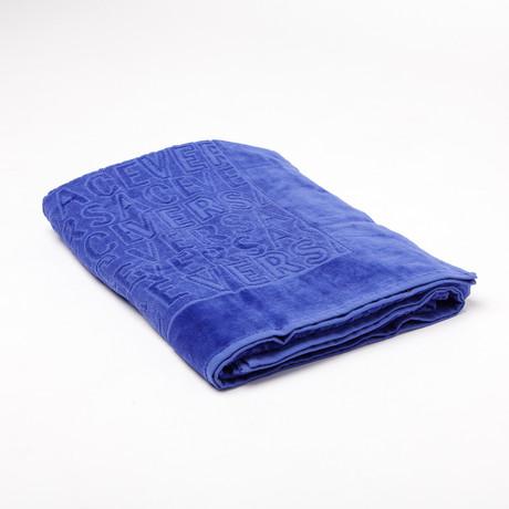 Versace Beach Towel // Purple
