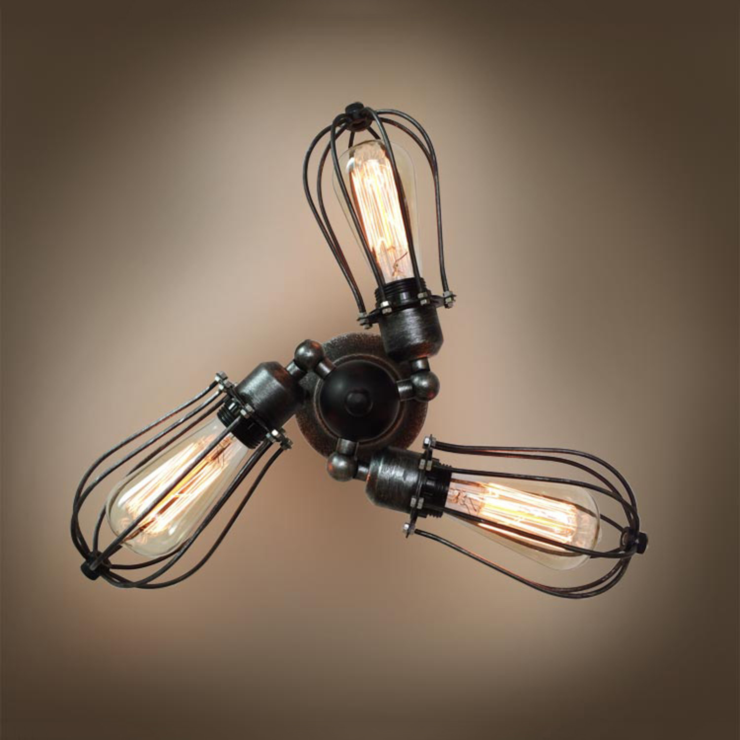 3 armed transformable arm ceiling light westmenlights touch of modern. Black Bedroom Furniture Sets. Home Design Ideas