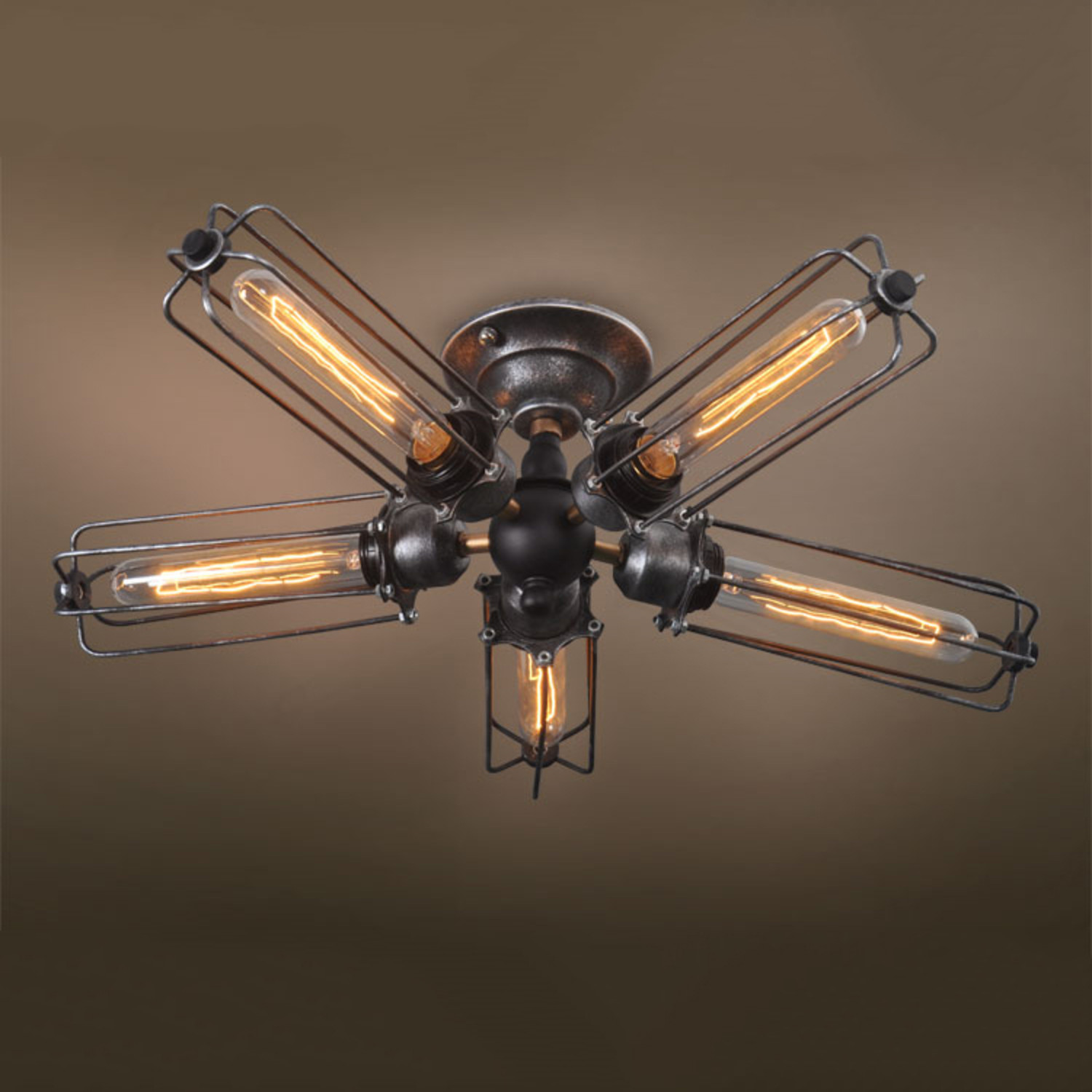 5 Armed Ceiling Light