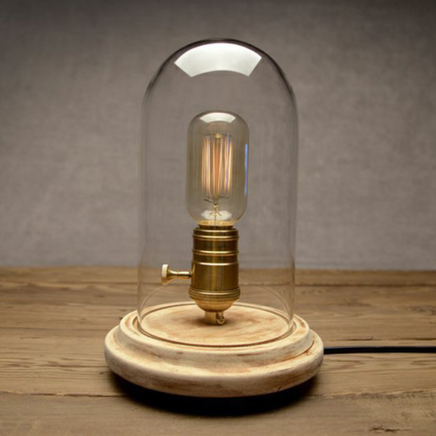 Esstischlampe Vintage ~ Bell Glass Table Lamp  Westmenlights  Touch of Modern