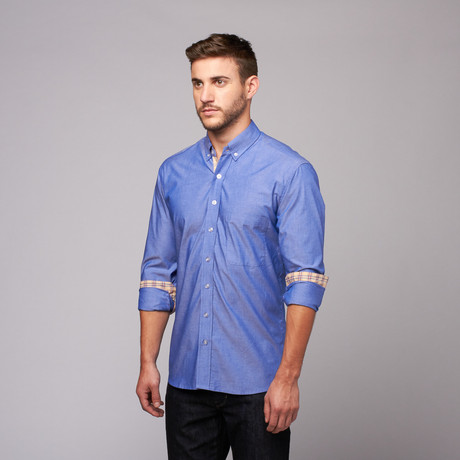 Reichardt threads wear your shirt untucked touch of modern for Casual button down shirts untucked