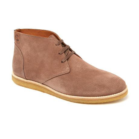 Teel Mid Perfo Derby // Mauve Suede (Euro: 44)
