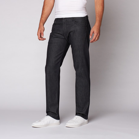 Relaxed Fit Denim // Ruthenium Plated Hardware