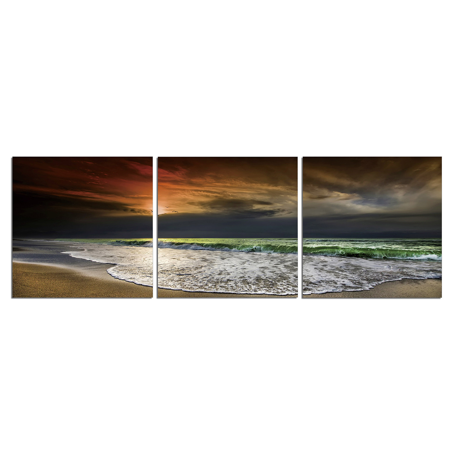 beach at night 60 w x 20 h x 0 75 d login for price 60 w x 20 h #9A6131 1500x1500