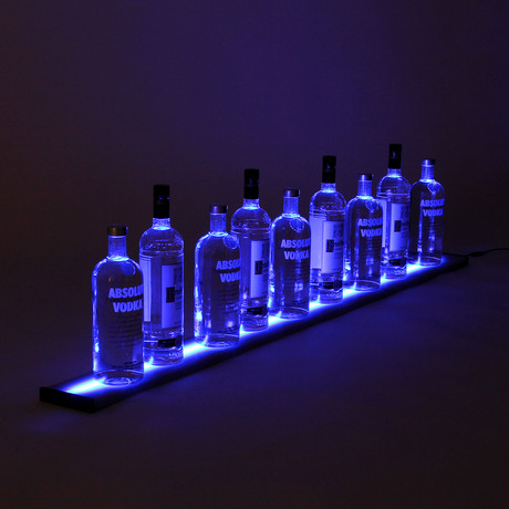 LED Liquor Shelf // 5 Feet