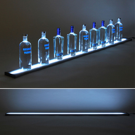 LED Liquor Shelf // 6 Feet