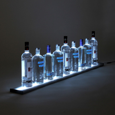 LED Liquor Shelf // 4 Feet